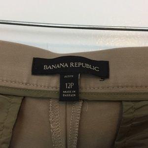 Banana Republic Pants - Banana Republic Women's Petite Pants Crop